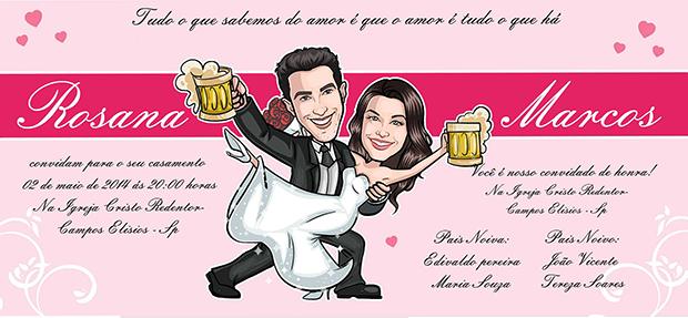convite-casamento-com-caricatura