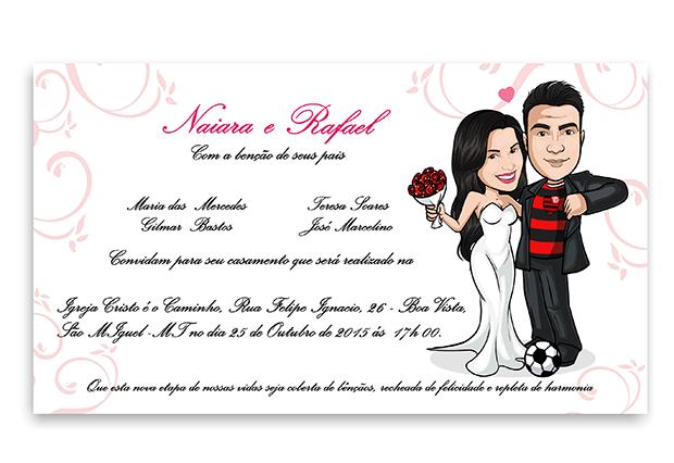 convite-de-casamento-com-caricatura-camisa-de-time