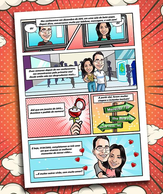 convite-de-casamento-em-historias-em-quadrinhos